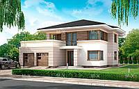 MX69. Стильный двухэтажный дом