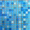 """Микс из стеклянной мозаики Eco-mosaic серии """"Глянец"""" 2х2см MC 154"""