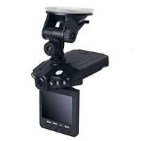 Видеорегистратор для авто DVR 198 UKC, с откидным жк-дисплеем, led-подсветка, многоязычное меню, зарядка 12в