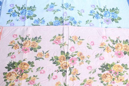 Махровое полотенце 75х35 «Цветы», фото 2