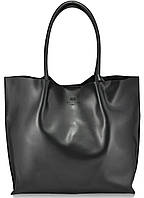 Женская кожаная сумка 828 черная