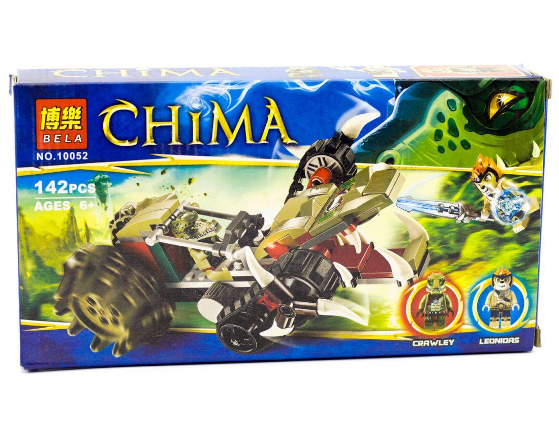 Конструктор Bela 10052 аналог LEGO Чима 70001 Потрошитель Кроули 142 дет