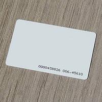 Бесконтактные карты EM-Marin ISO 125 kHz (MEDIUM PVC, толщина 0,8 мм — «тонкая под печать», ID-номер)
