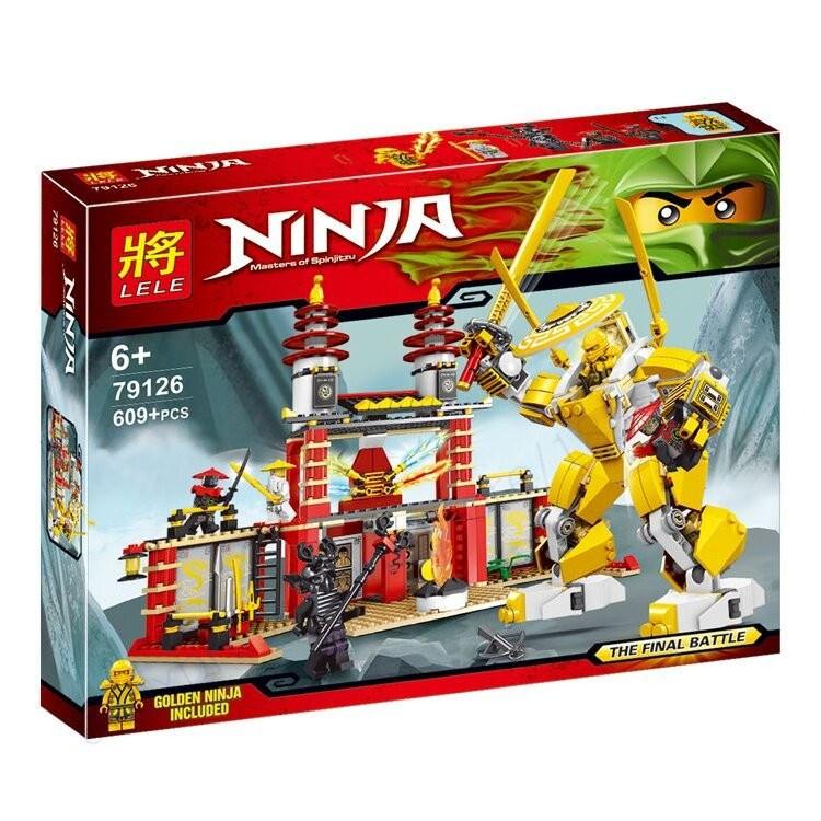 Конструктор Lele Ninja (аналог Lego Ninjago) 79126 Храм Света 609 дет