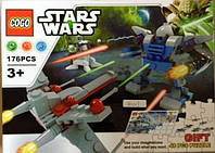 "Конструктор 80017 ""Star Wars"", 176 дет"