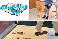 СУПЕРВПИТЫВАЮЩИЙ ПРИДВЕРНЫЙ КОВРИК CLEAN STEP MAT (КЛИН СТЕП МАТ)