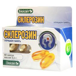 Склерозин 60 капсул, Экосвит Ойл - улучшаем память