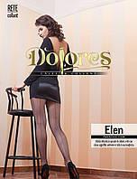 Колготки в сетку со швом сзади Dolores Elen