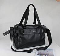 Мужская сумка черная формата А4