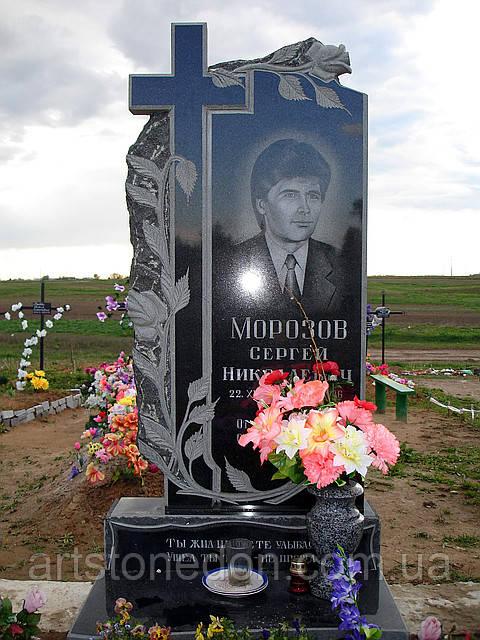 Памятник из гранита крест в цена на памятники в гродно вакансии