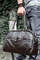 Повседневная городская сумка, коричневая