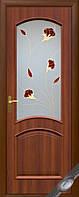 Двери Антре, Аве DeLuxe ПВХ цвет каштан,золотая ольха,венге,ясень