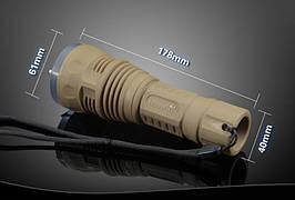 Подводный фонарь TrustFire TR-DF001 (Cree XM-L2, 650 люмен, 1x26650), комплект