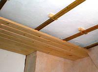 Монтаж вагонки (стена / потолок)