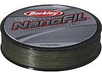 Шнур Berkley Nanofil Green 0.08мм; 4.012кг; 125м