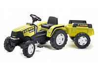 Детский трактор на педалях Falk 1023AB FARM POWER MAX
