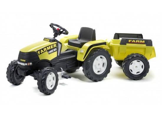 Детский трактор на педалях Falk 1023AB FARM POWER MAX, фото 2