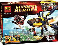 Конструктор Bela 10248 аналог LEGO Super Heroes 76019 Стражи Галактики: Решающее сражение 195 дет , фото 1