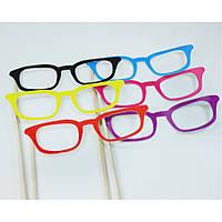 Фотобутафория  очки 6 шт., аксессуары для фото сессии