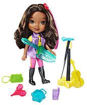Игровой набор от Fisher-Price совместно с Nickelodeon Dora and Friends.  Куколка Эмма с аксессуарами