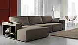 Итальянский модульный диван Byron с выдвижными подушками сиденья фабрика Felis, фото 3
