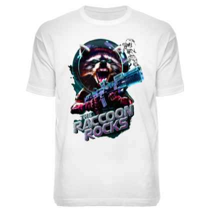 "Футболка ""Raccoon Rocks"""