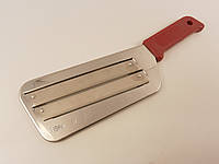 Нож шинковочный из нержавеющей стали на заклёпке