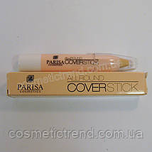 Консиллер/коректор маскуючий для особи All round Coverstick 01 (світлий) Parisa Cosmetics, фото 2