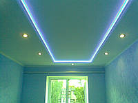 Шпатлевка потолок под покраску (кессоны)