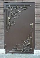 Двери наружные металичеськые
