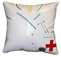 Сувенирная подушка подарок сотруднику медику