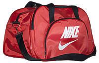 Сумка спортивная Nike, Найк красная