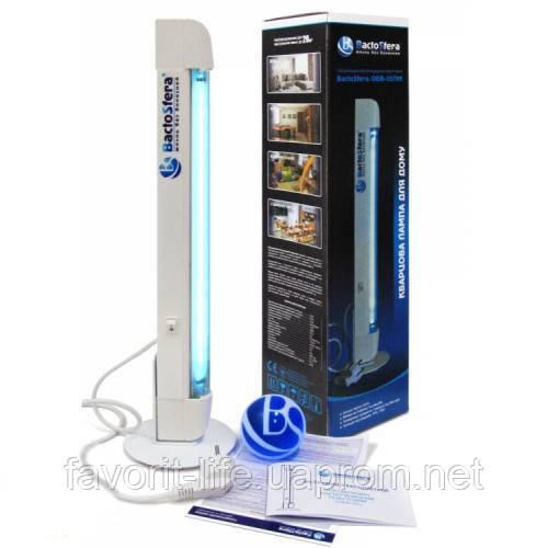 Кварцевая лампа (бактерицидный облучатель) BactoSfera ОББ-15ПП-О (озоновая лампа) - Интернет-магазин Фаворит в Киеве
