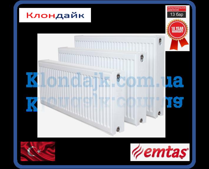 Emtas стальной панельный радиатор тип 22 500х1000