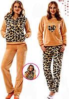 Пижамы пушистые (зимние) женские