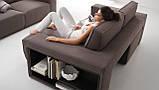 Итальянский модульный диван Byron с выдвижными подушками сиденья фабрика Felis, фото 4