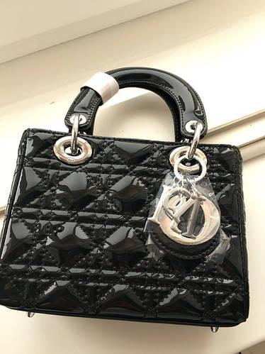 d74179c608e4 Сумка Dior Mini black (Лаковая)  продажа, цена в Харькове. женские сумочки  и клатчи от