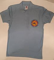 шелкотрафаретная печать логотипа на футболках поло