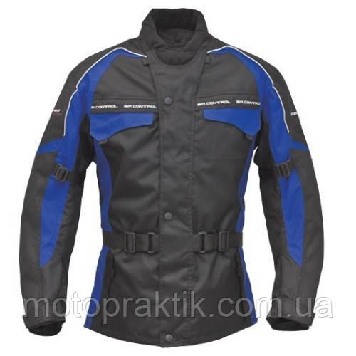 Roleff Reno Jacket Black/Blue, XS Мотокуртка текстильная с защитой