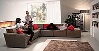 Модульный диван с подъемной спинкой Cozy фабрика Felis (Италия)