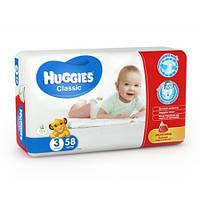 Подгузники Huggies Classic 3 4-9 кг (58 шт)