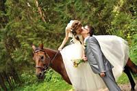 Свадебные фотосессии на лошадях