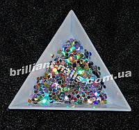 Шестигранники (соты) серебро  голографическое