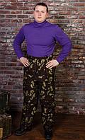 """Утепленные мужские брюки для охоты """"Эверест"""" камуфляж дубок"""