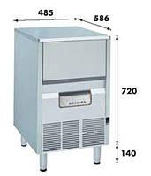 Льдогенератор (чешуйч) 75кг с контейнером для льда KF-85A