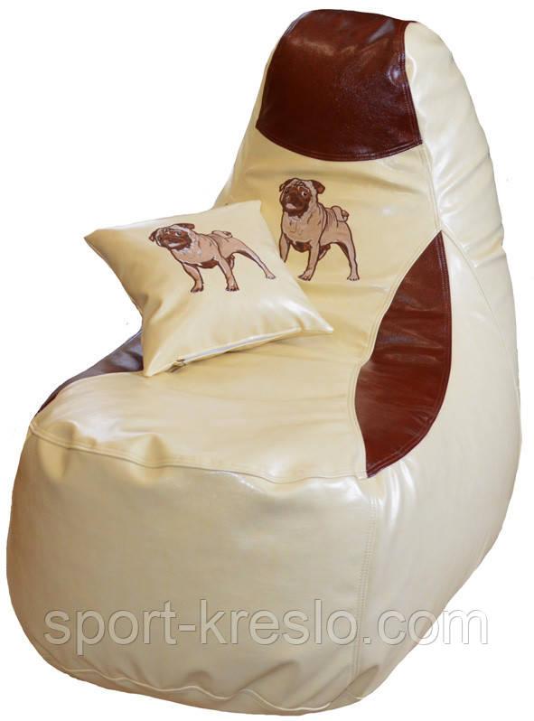 Кресло мешок пуф КОМФОРТ бескаркасная мебель