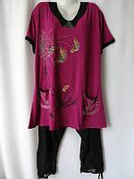 Женские летние костюмы больших размеров купить, фото 1