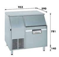 Льдогенератор KF-185A Migel чешуйчатого льда 165кг.