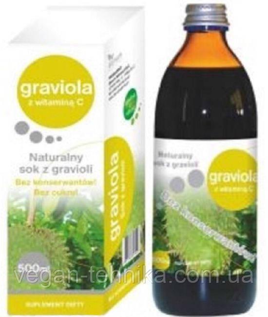 Сок гравиолы (гуанабаны) натуральный, 500 мл