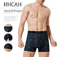 Трусы(боксеры) мужские Инсан Insung бамбук - 50грн. Упаковка 2шт - p.L, фото 1